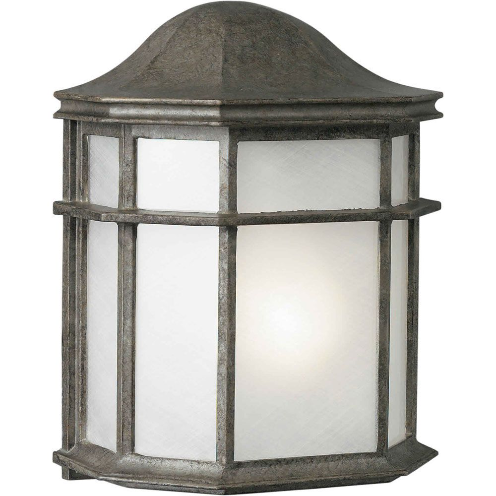 Burton 1 Light River Rock  Outdoor Incandescent Wall Light