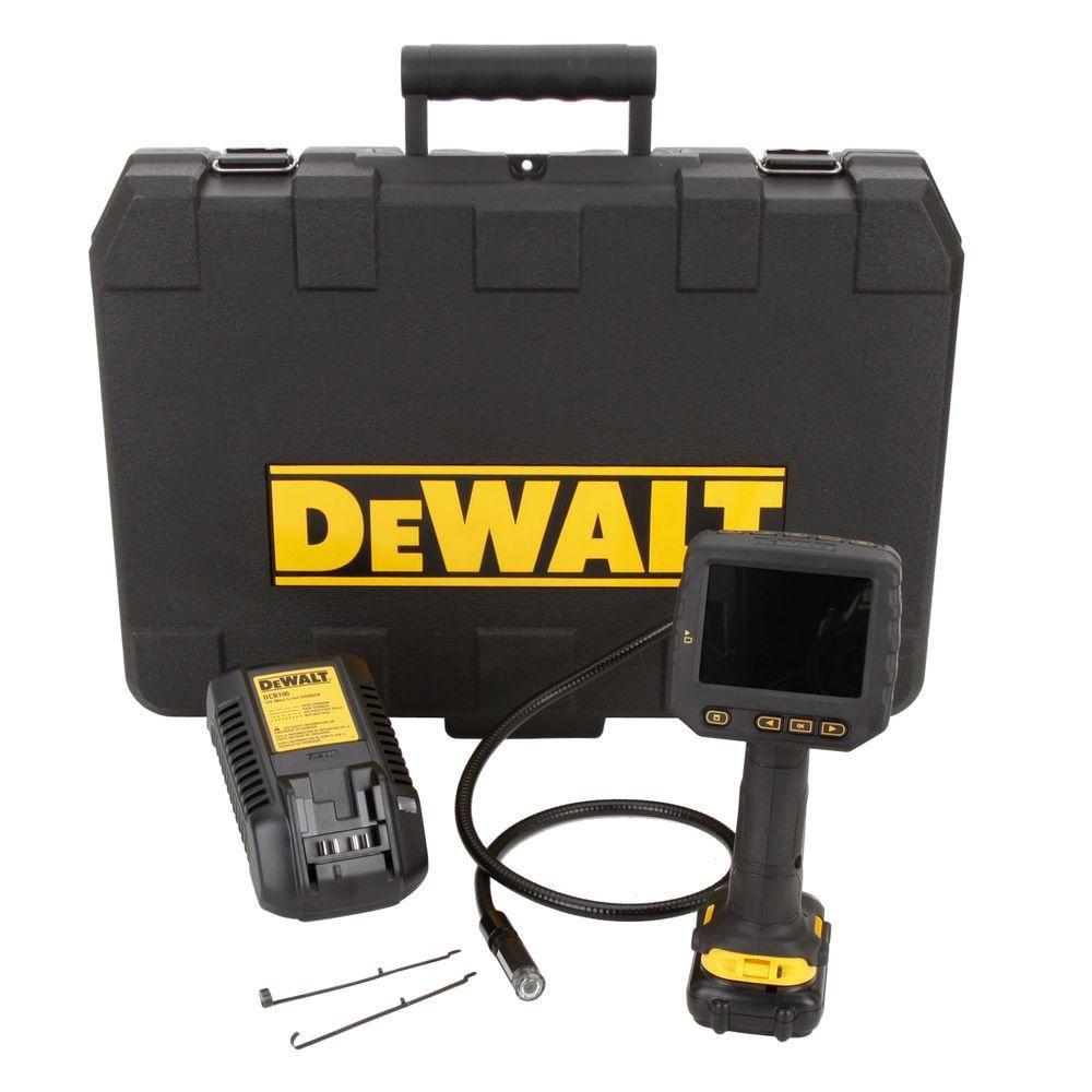 DEWALT 12V MAX 17mm Inspection Camera Kit w/ 1 Battery and Kit Box