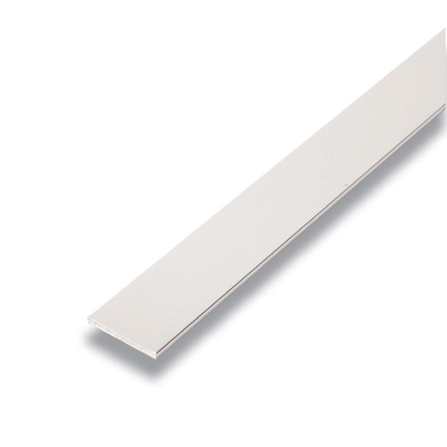 Metal Barre Argent 1/8 po x 1 po x 8 pieds