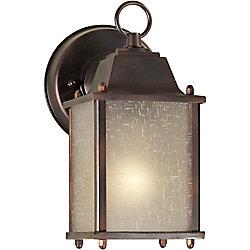 Filament Design Burton 1-Light Antique Bronze Outdoor Wall-Light
