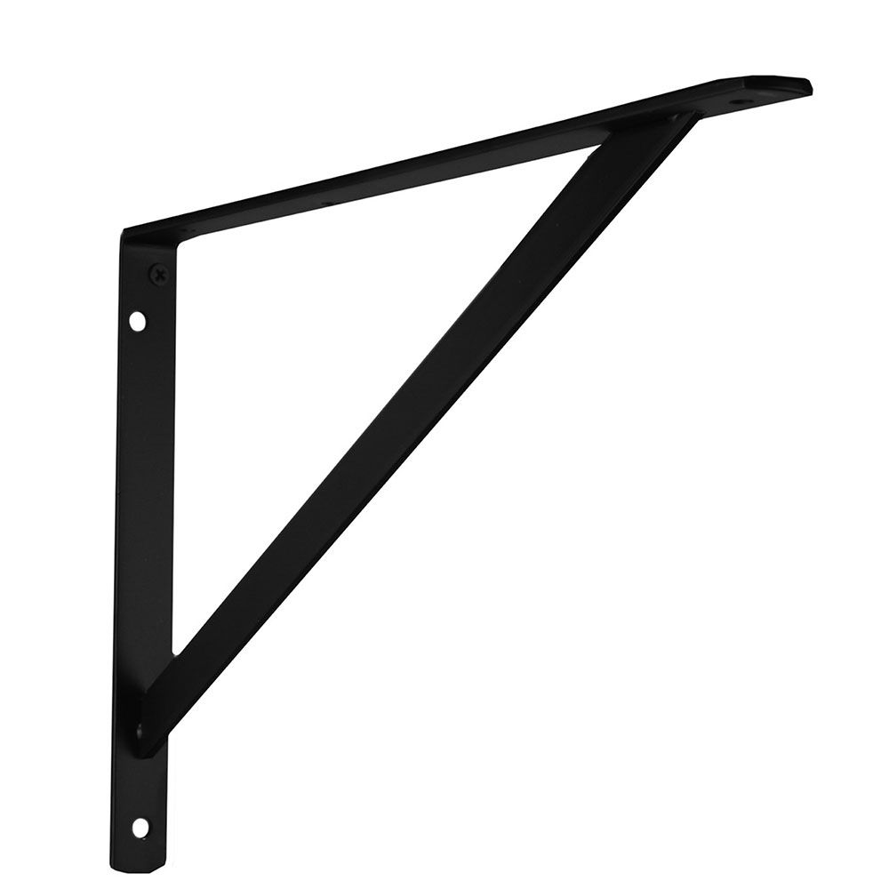 Everbilt 16 Inch Black Heavy Duty Bracket
