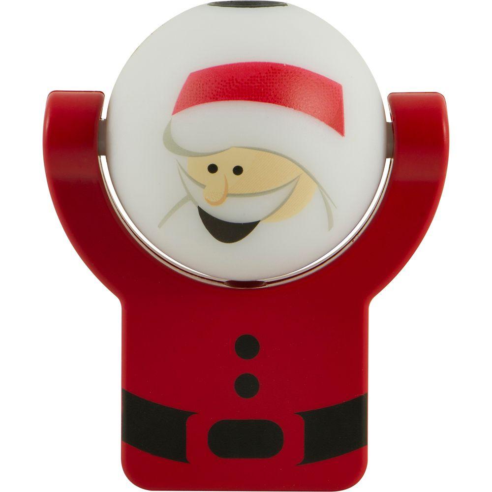 Night Light, Auto On/Off Holiday Santa