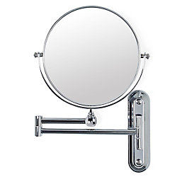 Better Living Valet 8 Inch Mirror with Wall Mount, 5X Magnify