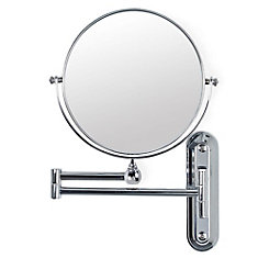 Valet 8 Inch Mirror with Wall Mount, 5X Magnify