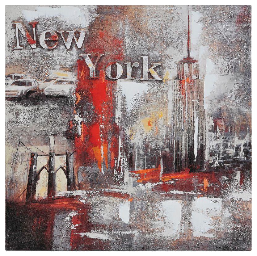 Toile Memories of New York