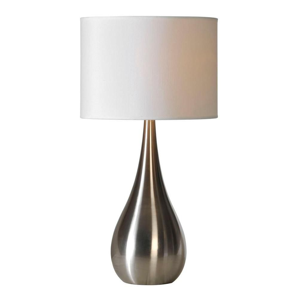 ren wil alba table lamp the home depot canada. Black Bedroom Furniture Sets. Home Design Ideas