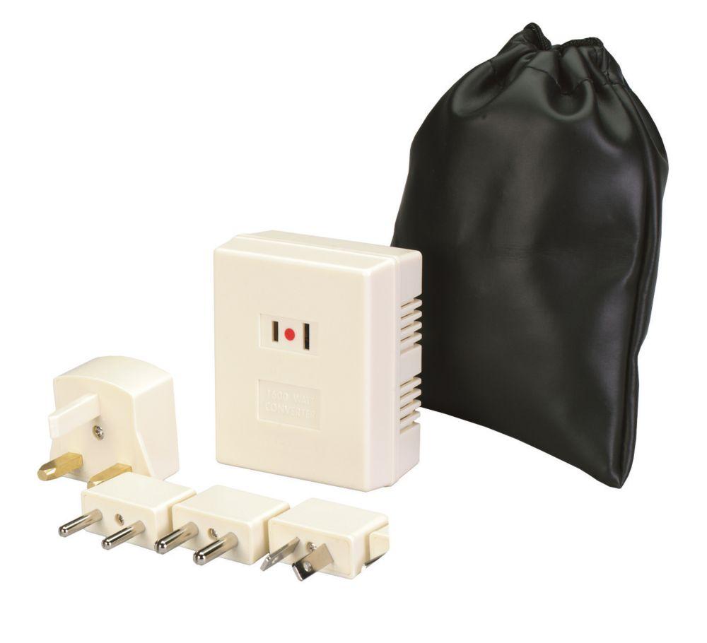 Jensen Foreign Voltage Converter Kit, Max Output 1600w