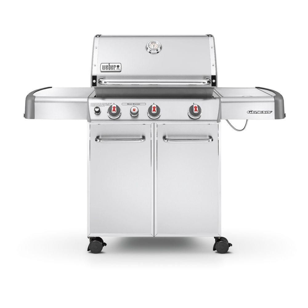 weber genesis s 330 ng bbq the home depot canada. Black Bedroom Furniture Sets. Home Design Ideas