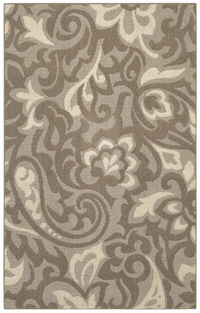 Forte Taupe 8 Ft. x 10 Ft. Area Rug
