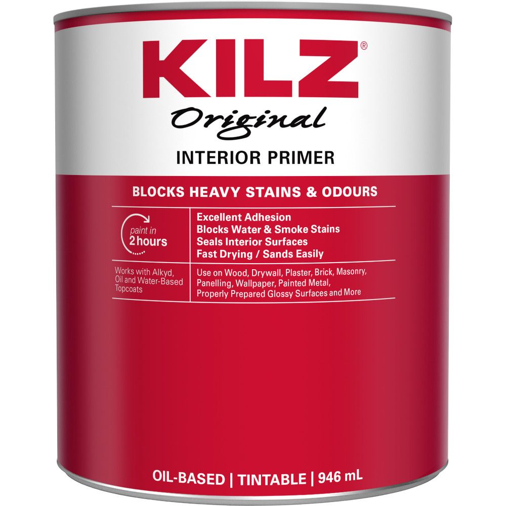 Original Primer, Sealer, Stainblocker - Interior, 946mL