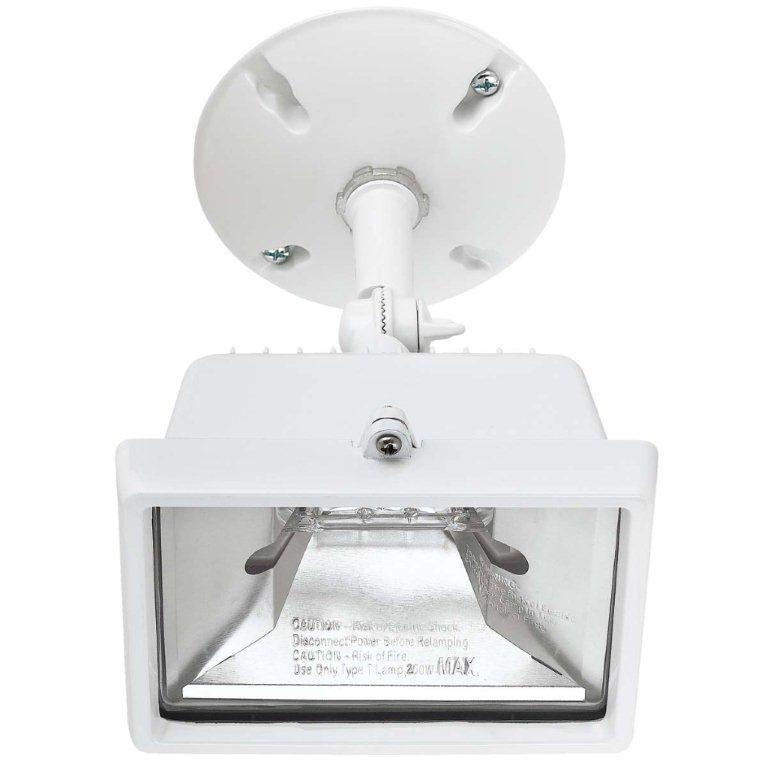 Outdoor Gas Lamp Repair Near Me: Globe Electric 250 Watt Single Lamp Outdoor Halogen