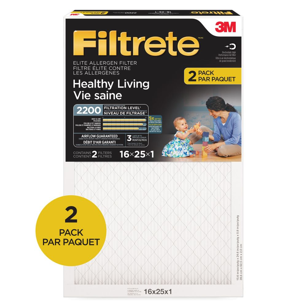 Vie saine Elite 2200, , 2200 MERV, 2/paquet