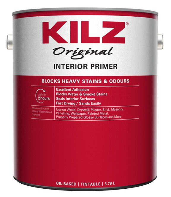 Original Primer, Sealer, Stainblocker - Interior, 3.79L