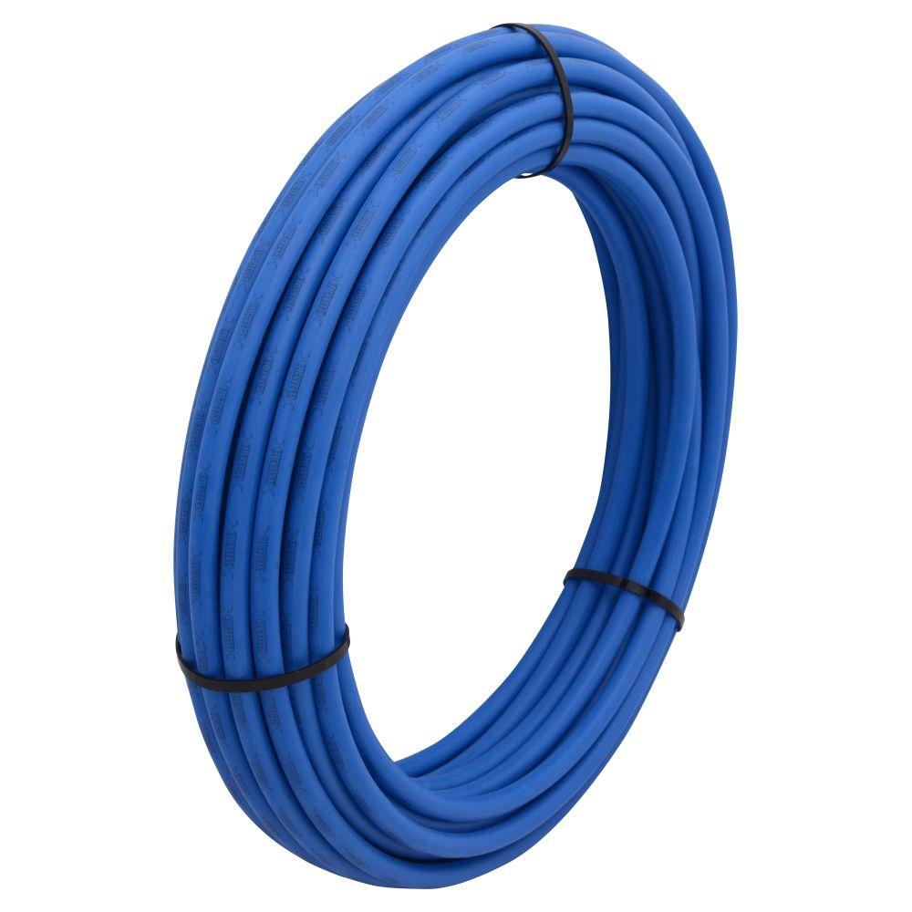 Tuyau superpex rouleau bleu - 1/2 pouces x 100 pieds