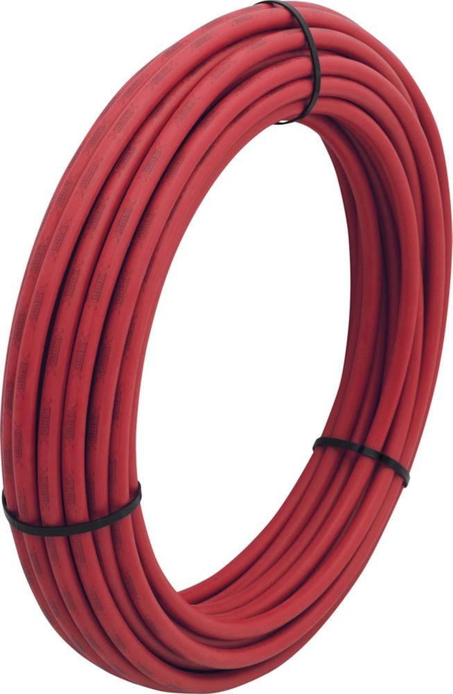 Super Pex Pipe, Red -  1/2 Inch x 100 Feet