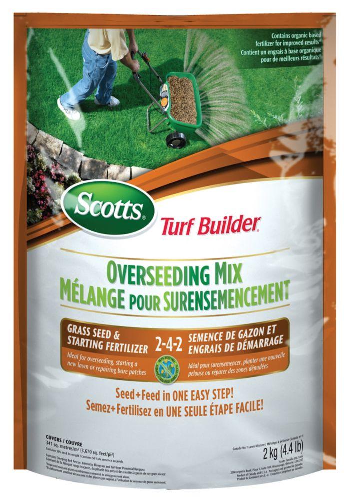 Turf Builder Overseeding Mix