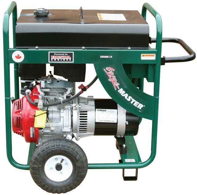 5000 Watt Generator Electric Start (battery not included)