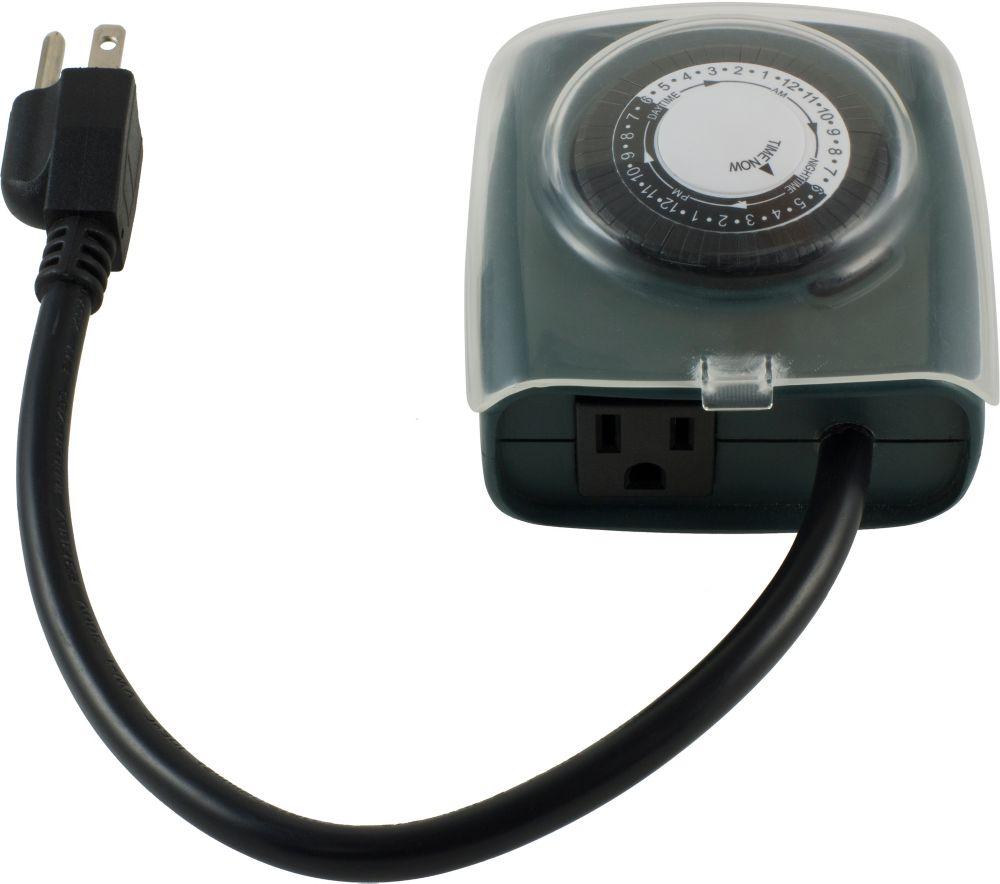 Commande de lumière sans fil activée par la porte avec récepteur et télécommande RF