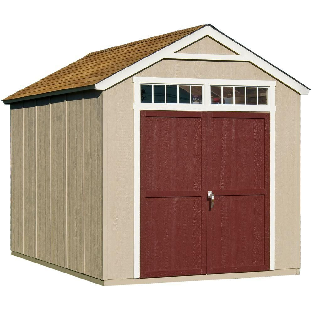 Outdoor living today 8 ft x 12 ft santa rosa garden shed for Garden sheds canada