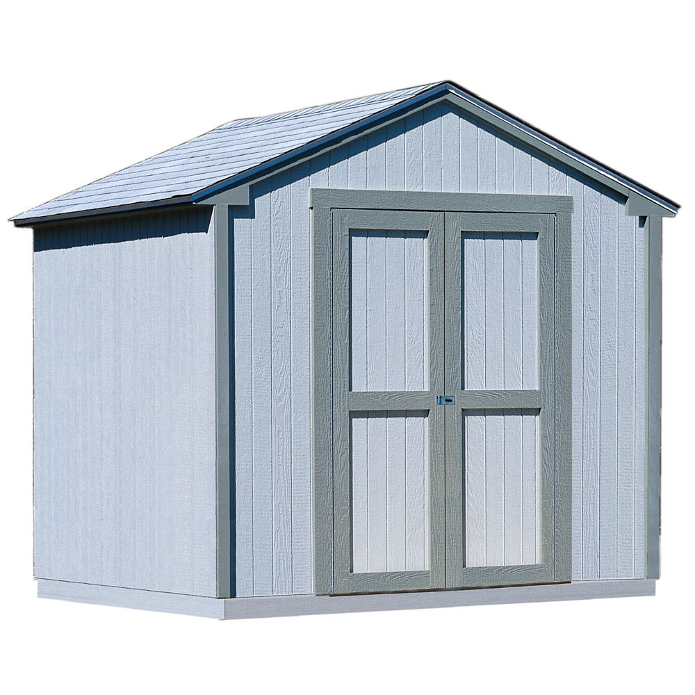 Handy Home Products  Kingston avec cadre de plancher (8 Pi x 8 Pi.)