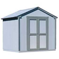 Handy Home Products 8 ft. x 8 ft. Kingston Shed with Floor Frame