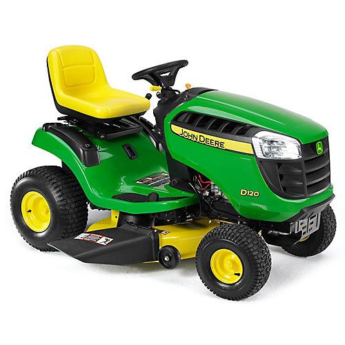 "D120 21HP Single Cylinder Lawn Tractor, Hydrostatic Transmission, 42"" Cutting Deck"