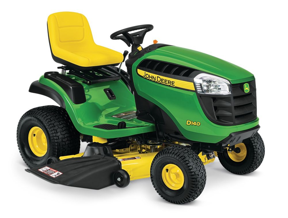 D140 48-inch 22-HP V-Twin Hydrostatic Front-Engine Riding Mower