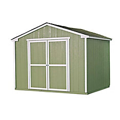 10 ft. x 8 ft. Cumberland Shed with Floor Frame