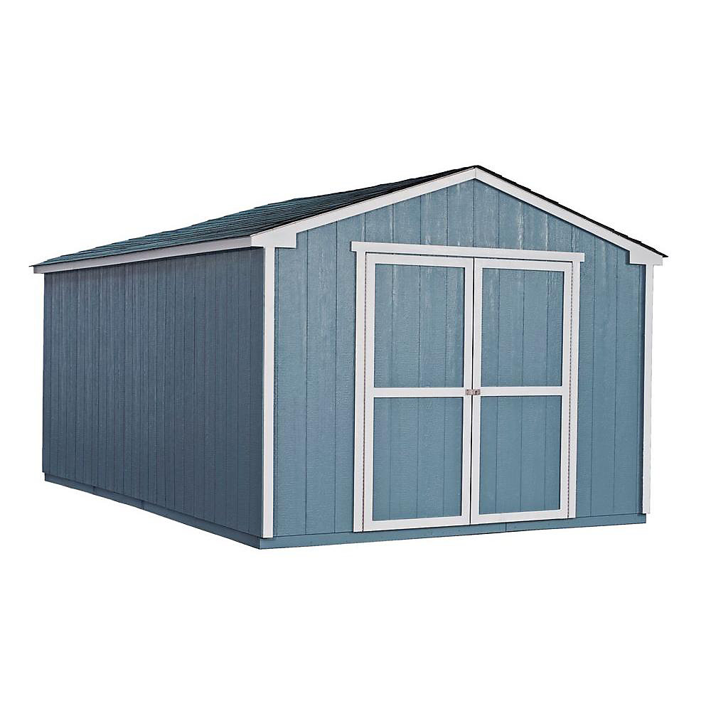 Cumberland 10 ft. x 16 ft. Shed with Floor Frame