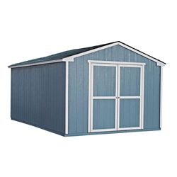 Handy Home Products Cumberland 10 ft. x 16 ft. Shed with Floor Frame