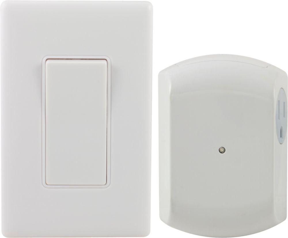 Wireless Remote Wall Switch Light Control