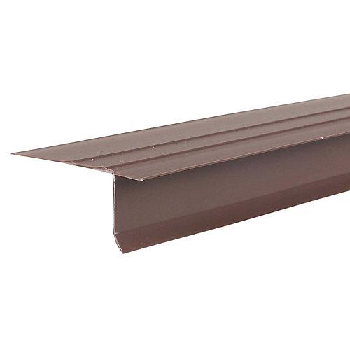 F4 1/2 Brown Vinyl Drip Edge