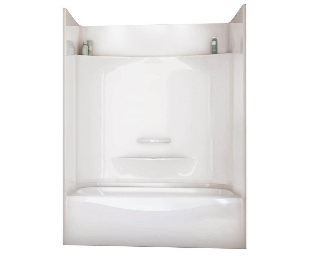 Baignoire-douche 6030 4 pièces – Drain à gauche
