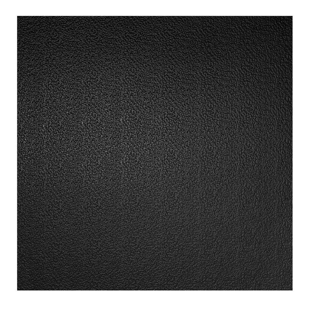 2  Feet x 2  Feet Stucco Pro Black Lay In Ceiling Tile