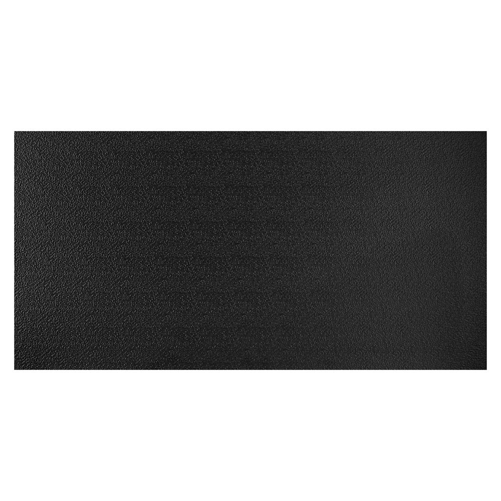 Genesis 2  Feet x 4  Feet Stucco Pro Black Lay In Ceiling Tile
