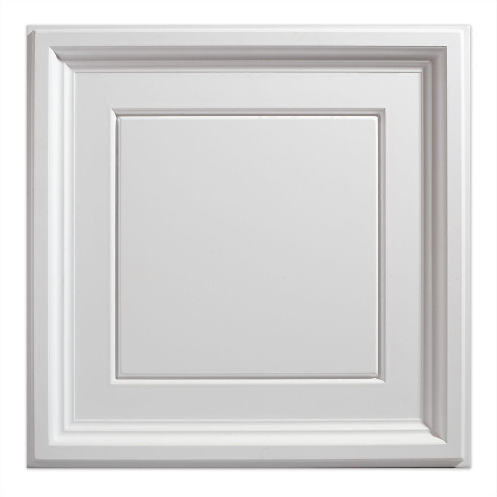 2  Feet x 2  Feet Icon Coffer White Lay In Ceiling Tile
