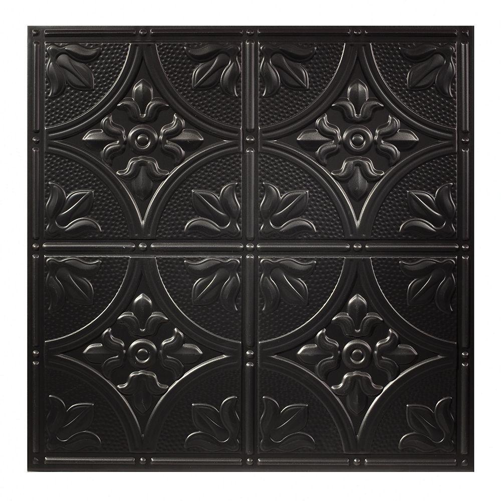 Tuile Noire Antique Black 2 pds x 2 pds pour Plafond Suspendu