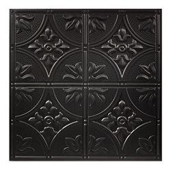 Genesis Tuile Noire Antique Black 2 pds x 2 pds pour Plafond Suspendu
