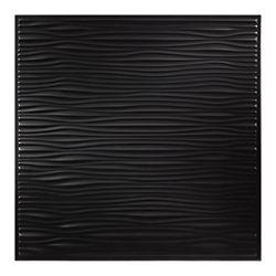Genesis Tuile Noire Drifts 2 pds x 2 pds pour Plafond Suspendu