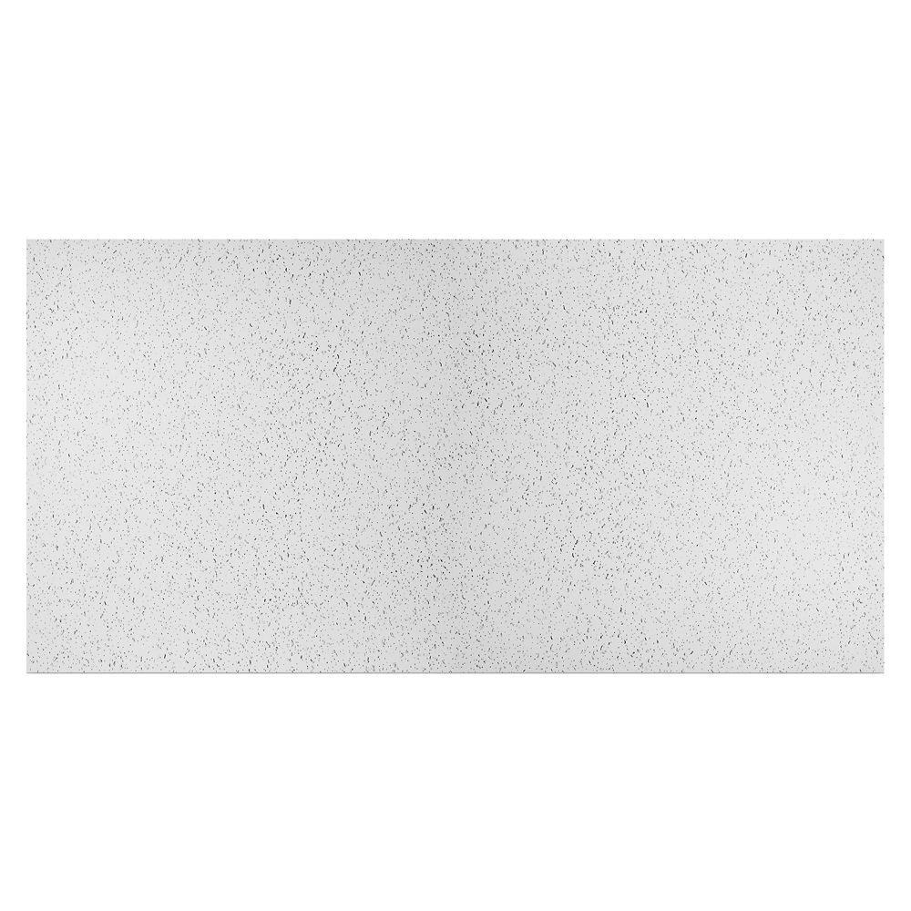 Tuile Blanche Printed Pro 2 pds x 4 pds pour Plafond Suspendu