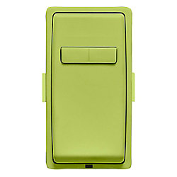 Leviton Face Plate for Coordinating Dimmer Remote (Wallplate not Included) in Granny Smith Apple