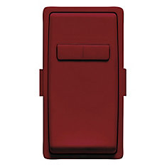 Face Plate for Coordinating Dimmer Remote (Wallplate not Included) in Deep Garnet