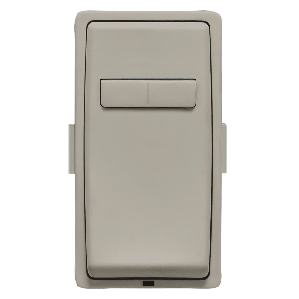 Leviton - Renu Face Plate for Coordinating Dimmer Remote (Wallplate not Included) in Wood Smoke