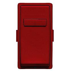 Leviton Face pour gradateur asservis coordonés (Plaque murale non-incluse) en Rouge délicieux