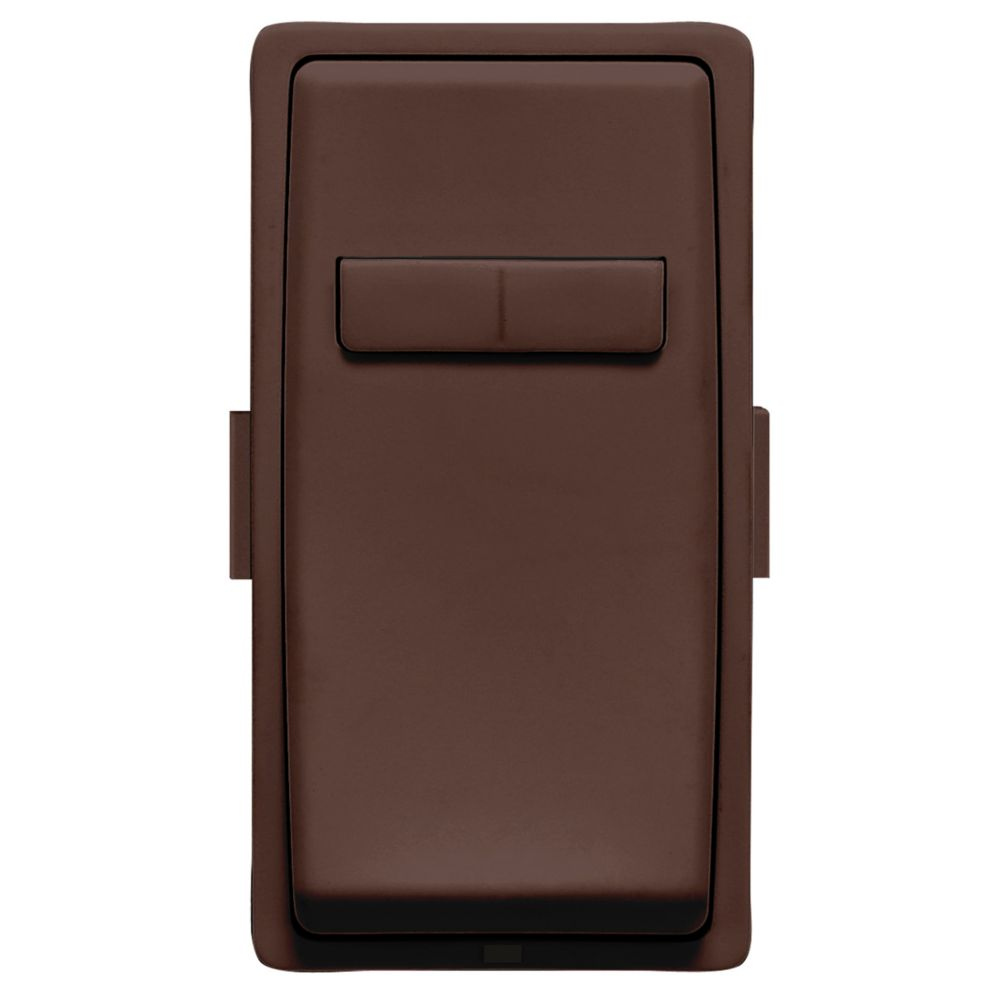 Leviton - Renu Face Plate for Coordinating Dimmer Remote (Wallplate not Included) in Walnut Bark