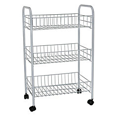 3 Tier Storage Cart with Wheels