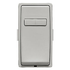 Face Plate for Coordinating Dimmer Remote (Wallplate not Included) in Pebble Gray