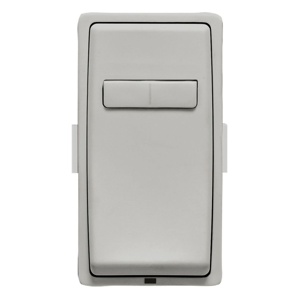 Leviton - Renu Face Plate for Coordinating Dimmer Remote (Wallplate not Included) in Pebble Gray