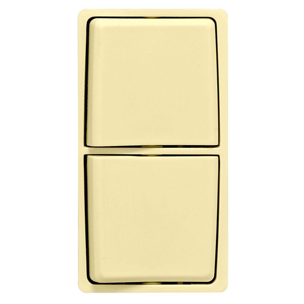 Trousse de changement de couleur Renu pour interrupteurs combinés Renu, en soie blonde.