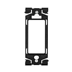 Adapor Ring (Allows any Decora device to fit into a wallplate) in Onyx Black